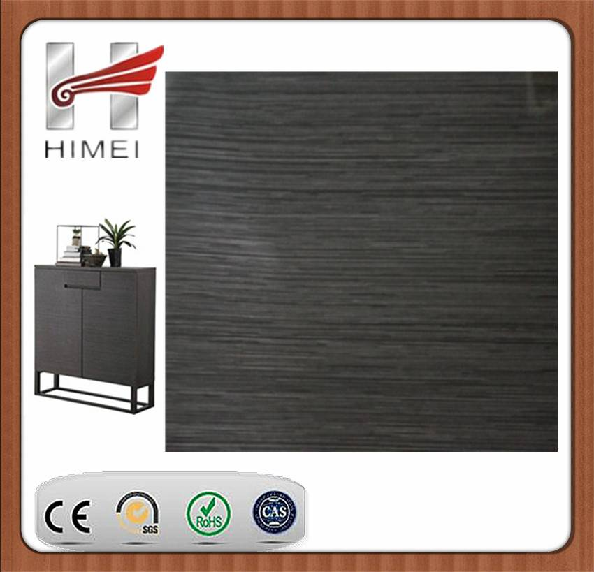 PVC film laminating sheet for cabinet
