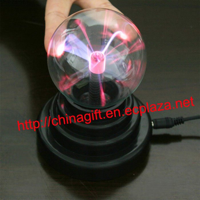 USB Plasma Ball Sphere Desktop Decorating Lamp