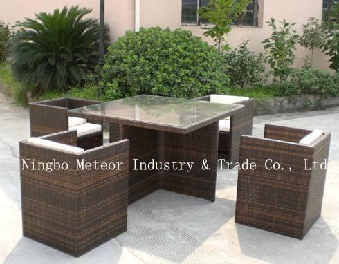 MTC-018 natural rattan furniture-rattan dining room furntiure