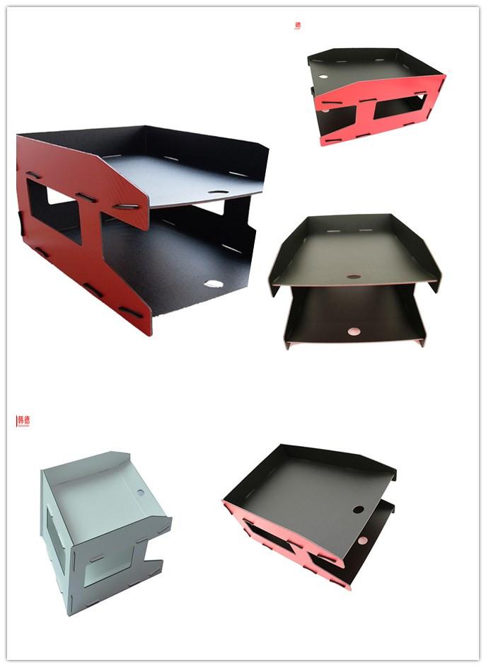 new design PP foam file folder material multifunctional DIY factory direct 2 layers file holder