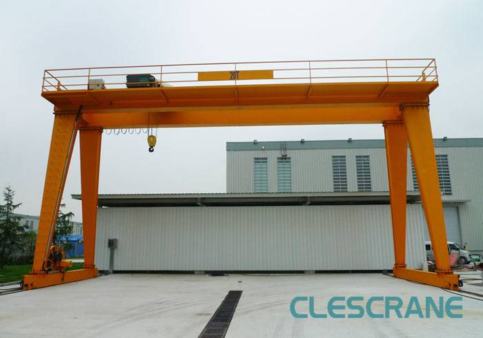 CHG Series Wire Rope Electric Hoist Double Beam Gantry Crane