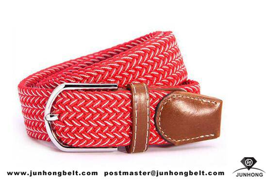 Original Factory Jeans Braided Fashion Woven Elastic Belt