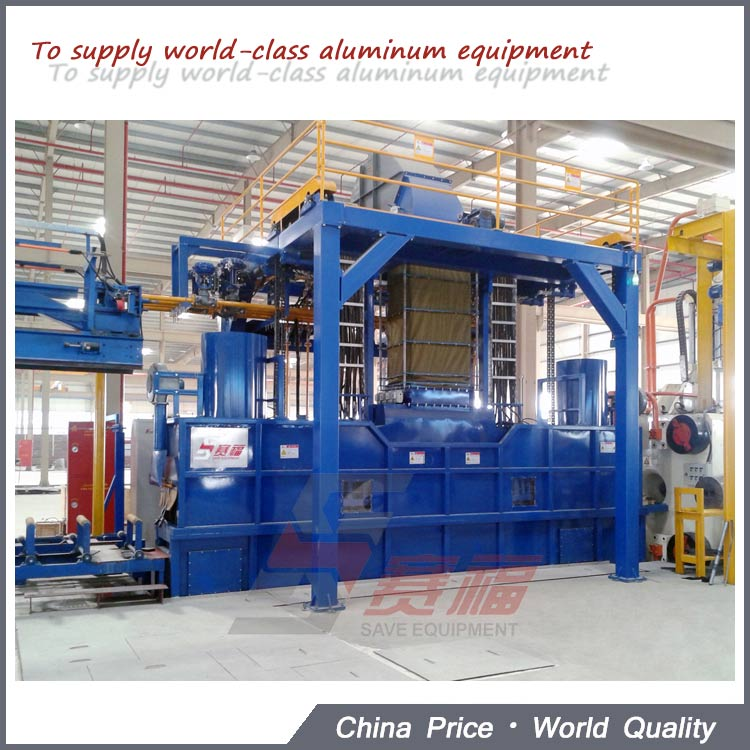 SAVE Aluminum Alloy Profile Cooling System After Extrusion Press Line