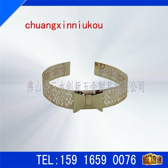 chuangxin metal sequins &waistband accessories
