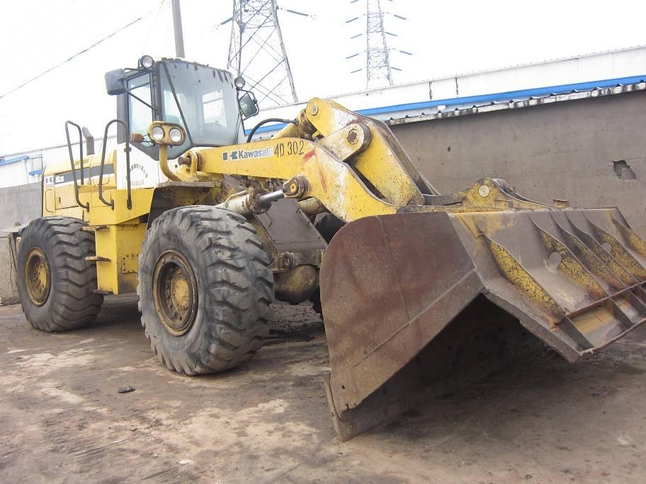 used kawasaki loader 85Z-4