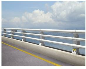 Guardrail for roadway