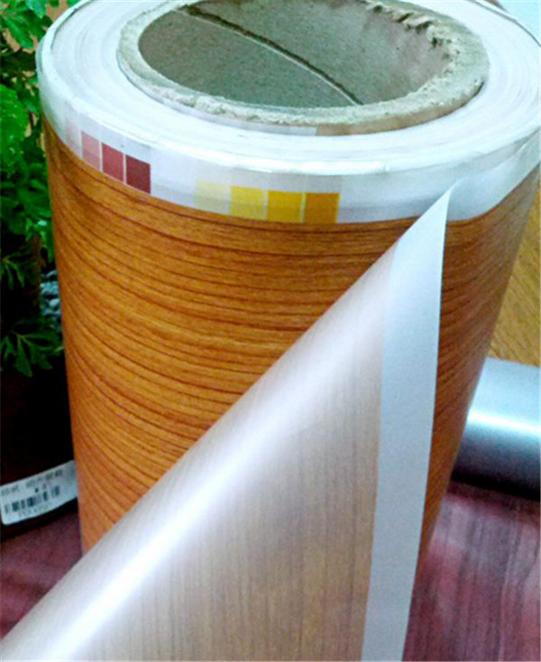 wood grain heat transfer film