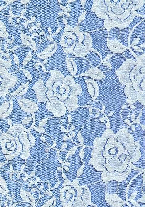 Nylon Lace Fabric for Dress or Skirt Shirt
