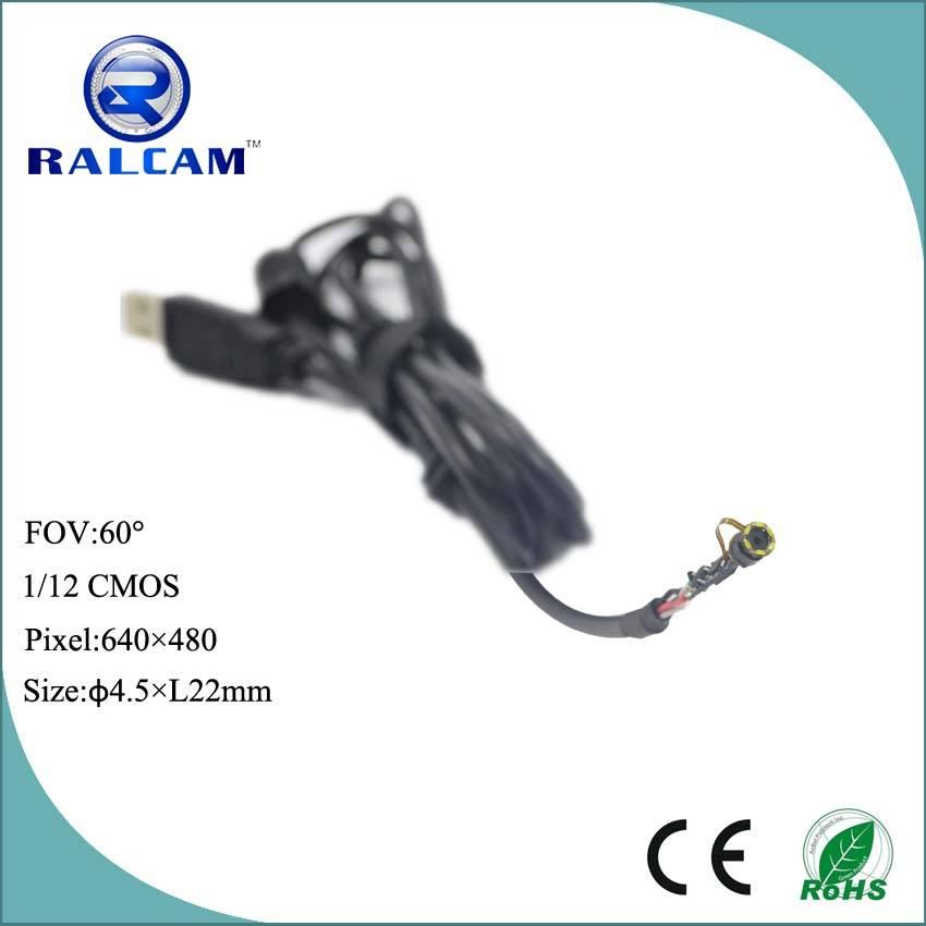"6 Pcs LED Lights 2~5cm DOF 1/12"" CMOS Sensor Digital USB Camera Module"