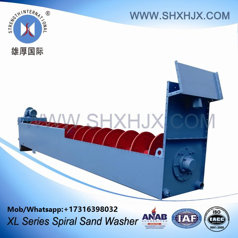 Large Capacity Spiral Sand Washer For Hydropower Station