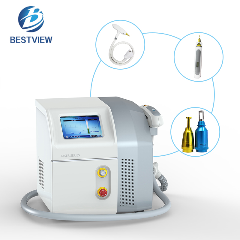 Best Professional Q-Switch Laser Tattoo Removal Machine for Sale