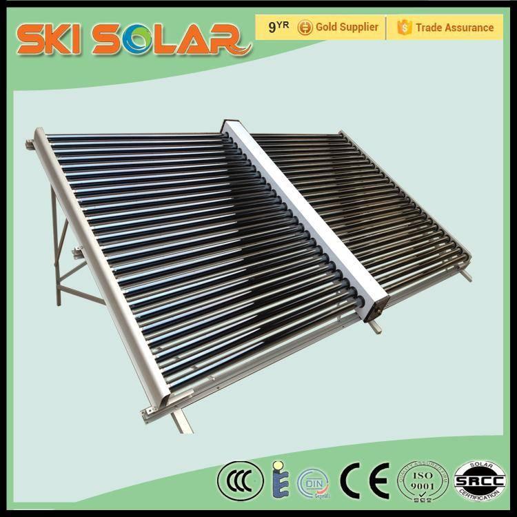 600L split non-pressurized swimming pool heating equipment solar collector