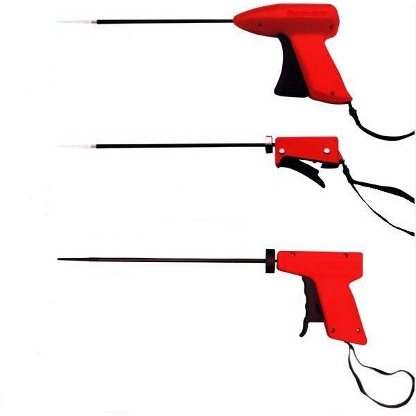 Fluff gun manual type