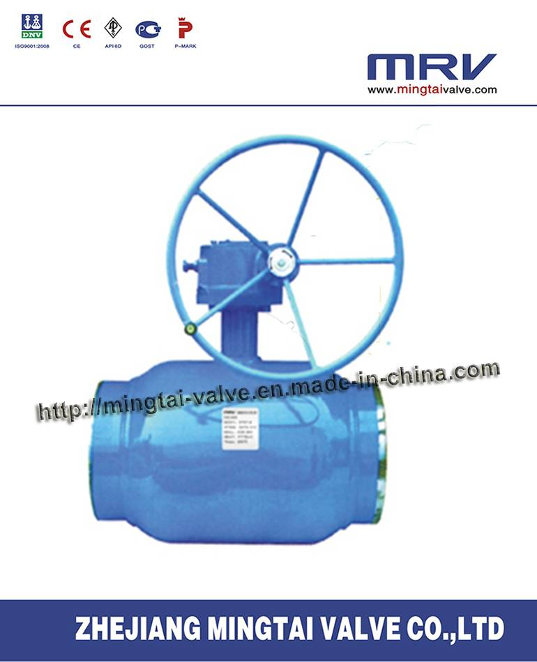 API Drive Fully Welded Ball Valve