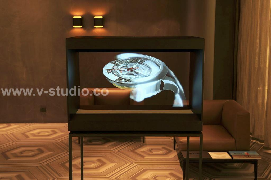 Hologram Projection Display Cases by V-Studio