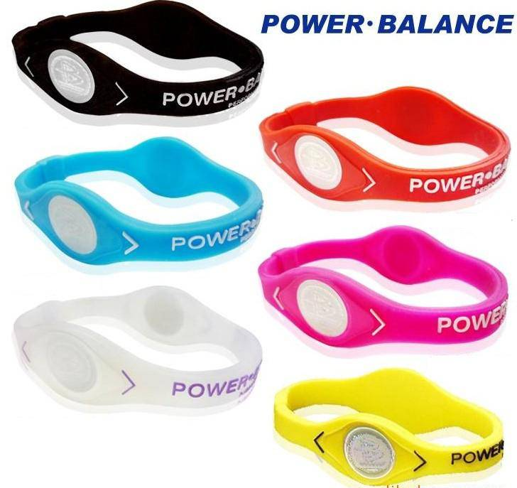 silicone power energy bracelet