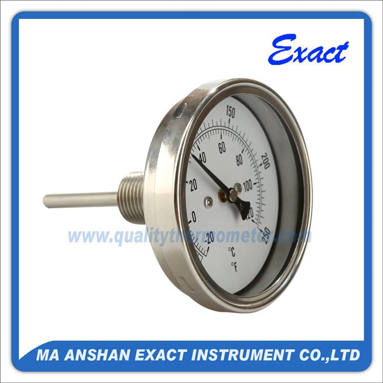 BBQ cooking oven furnace bimetal thermometer