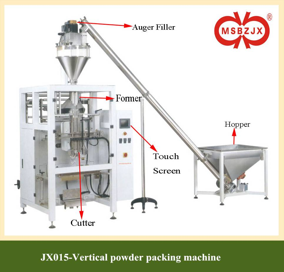 JX015-Large Scale Vertical  powder packaging machine