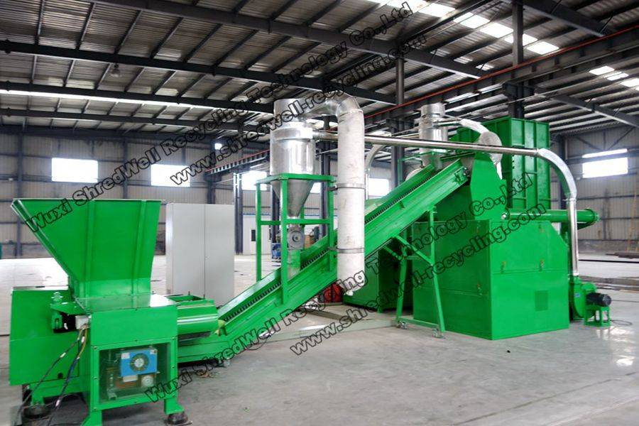 Waste Wires/Cables Recycling System with Big Discount
