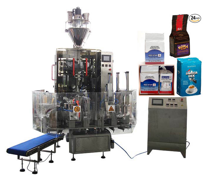 Automatic Coffee Powder Vacuum Packaging Machine
