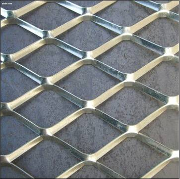 Expanded steel mesh