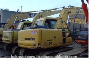 used Komtsu excavator PC120