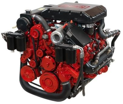 NEW BUKH VGT 500 HP DIESEL MARINE ENGINE - FOR SALE - PT