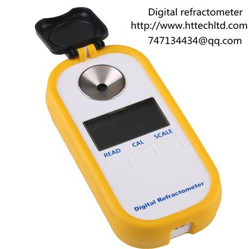 Digital salinity chlorinity specific gravity refractive index tester refractometer