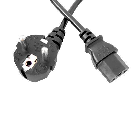 power cord EU 3 plugs with C13 connector Power Cord