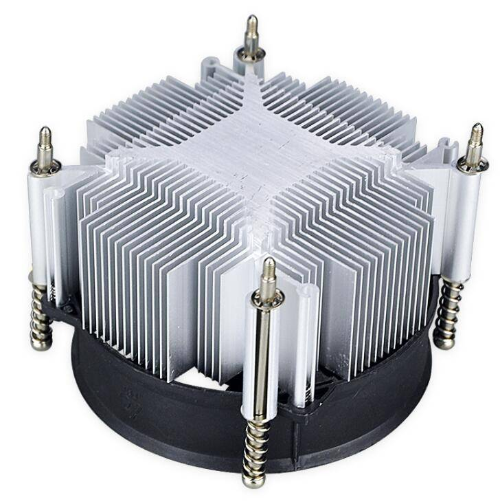 Hot selling 1150/1155/1156 sunflower heat sink with fan