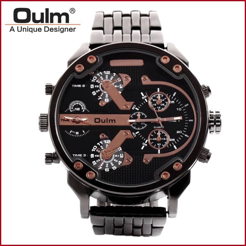 men watch oulm design quartz watch