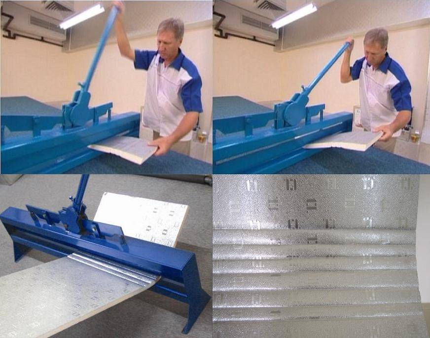 Manual Bending Machine for Pre Insulated Panel of Insulation Duct