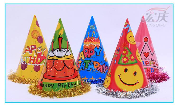 Popular happy chrismas hat,festival hat,birthday hat for  Celebrate
