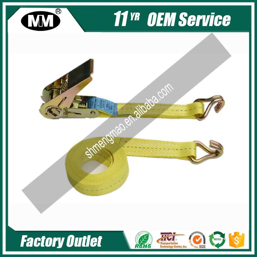 1001 Polyester tie down ratchet lashing cargo strap