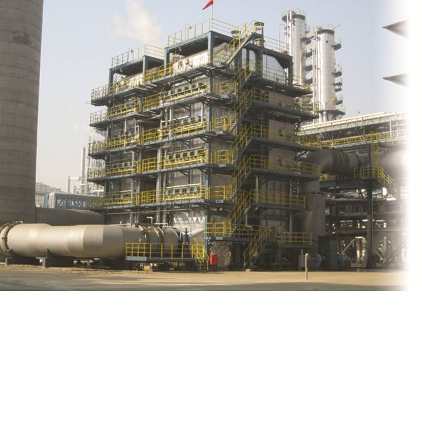 Catalytic cracking unit waste heat boiler
