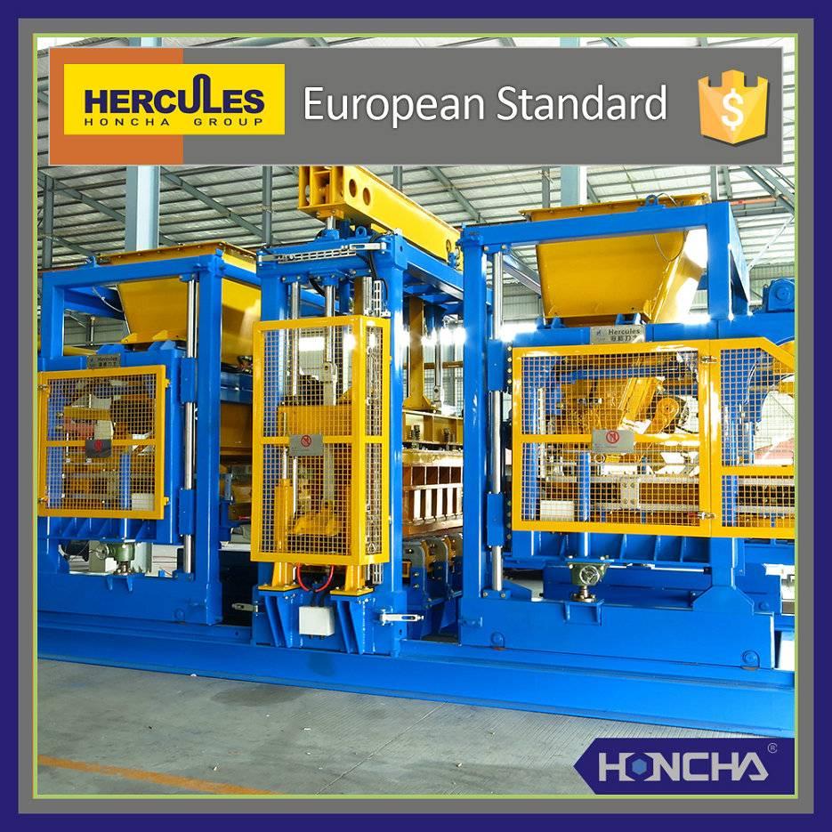 Concrete block machine Hercules, Full-Auto Paver Production Line