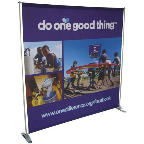 Jumbo Telescopic Backdrop Banner Stand
