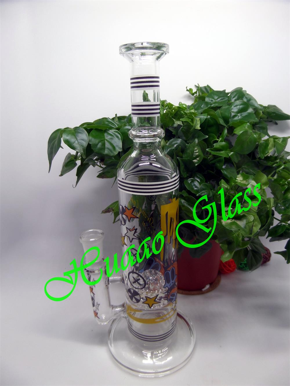Hand blown 5mm glass smoking pipe with Glass and high borosilicate glass glass water pipe