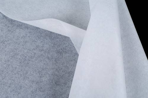 non woven fusible enzyme stone wash interlining-CK617(interfacing)