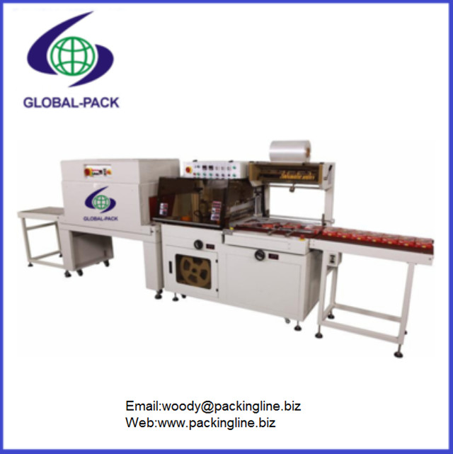 Automatic seal and shrink packing machine