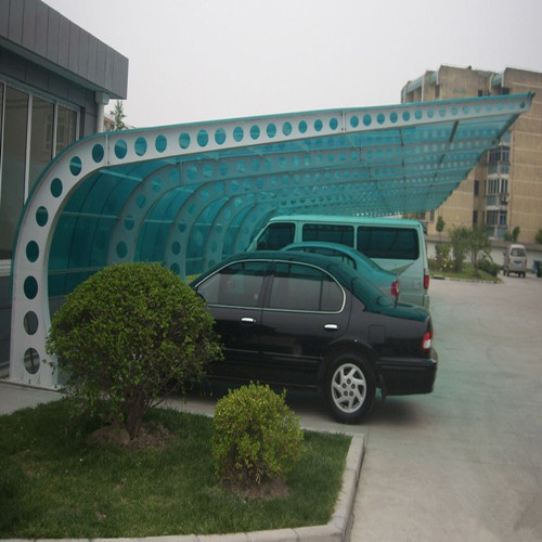 2mm solid polycarbonate sheet roll for car shed roof