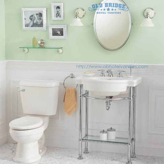High quality Bathroom Vanity base with steel legs
