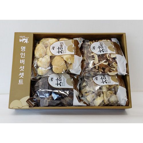 Korea Health Food Mushroom Gift Sets