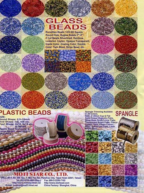 Glass Beads / Plastic Beads / Spangle