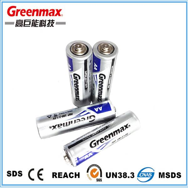 Factory direct sale environmental r6p 1.5v battery