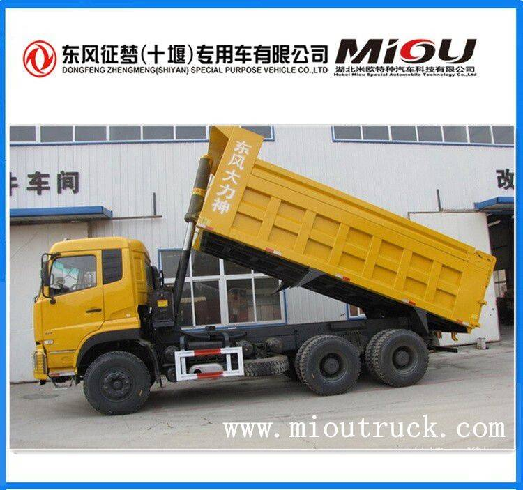 Dongfeng 10 wheeler dump dumper truck for sale