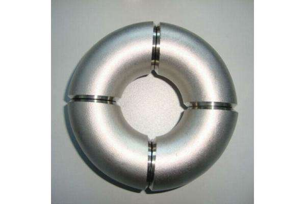 JIEDE stainless steel shot-blast elbows