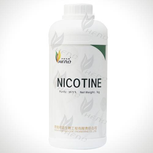 High Quality nicotine raw material manufacturing 99.9% pure nicotine