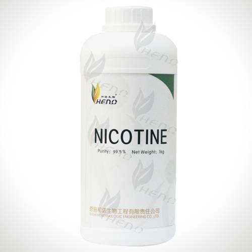 High Quality nicotine raw material manufacturing 99.9% pure nicotine