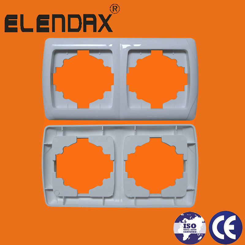 2 gang horizontal ABS Material frame(F3200)